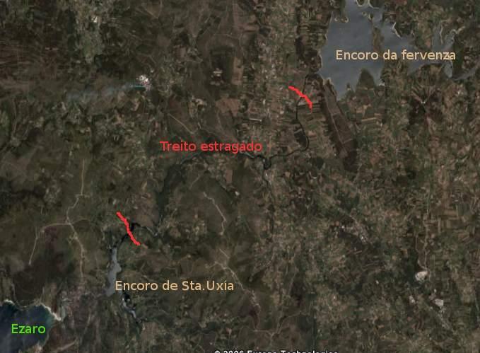 Verdegaia oponse á construción de novas minicentrais no río Xallas