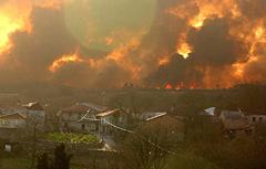 Verdegaia demanda un pacto social e político contra os lumes