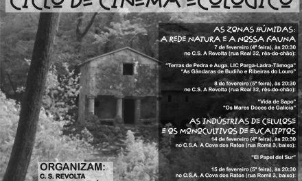 A.C. Caleidoskopio, C.S. A Revolta e Verdegaia organizam Ciclo de Cinema Ecológico