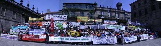 Éxito da manifestación Galiza non se Vende