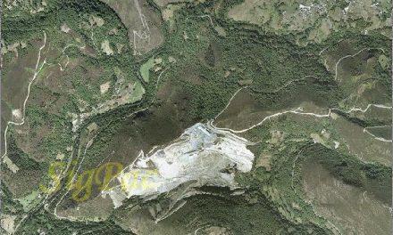 A zona afectada pola mina da Campa,  no Courel, foi Rede Natura 2000 durante cinco anos
