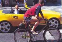 A bicicleta, o medio máis rápido e eficiente para os desprazamentos urbanos