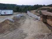 Continúan as obras ilegais no espazo natural das Gándaras de Budiño e Ribeiras do Louro