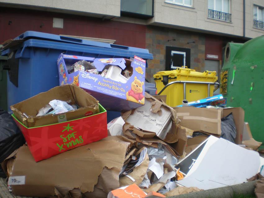 Fotodenuncia: Os reis trouxéronme lixo 2008