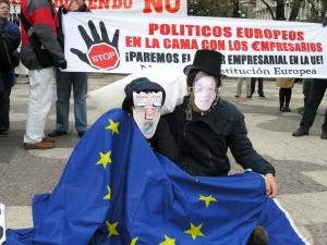 O Tratado de Lisboa, evidencia dunha Unión Europea de costas á súa poboación