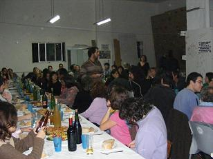 Éxito da cea organizada para S.O.S. Courel en Vigo