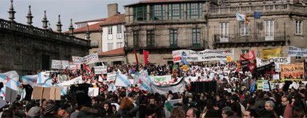 """10.000 voces berran """"Goberne quen goberne, Galiza non se vende!"""""""