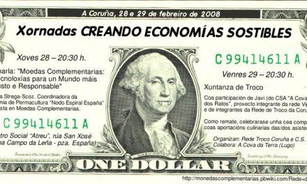 A Economía Alternativa: Xornadas na Coruña e Lugo