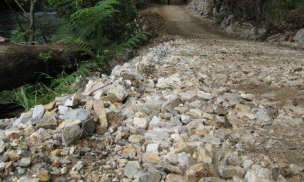 Verdegaia exixe de novo a paralización das obras do paseo fluvial no río Sor (Mañón)