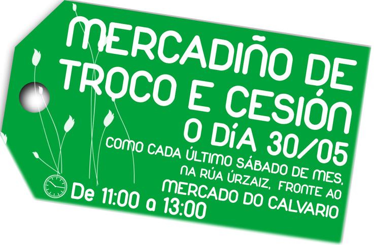 Sábado 30 de maio, Mercadiño de Troco en Vigo