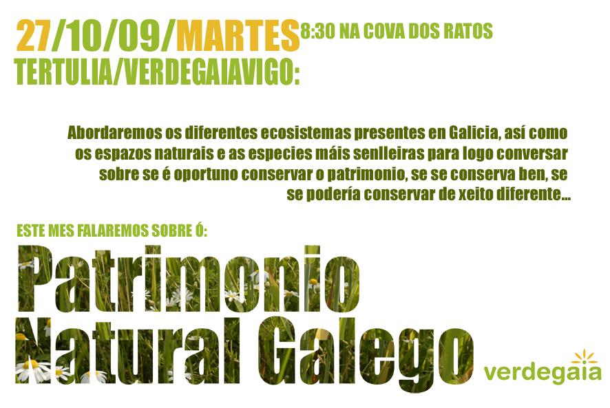 Tertulia: Partrimonio Natural Galego