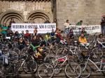 Pedaladas contra o cambio climático en Compostela
