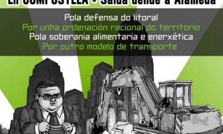 Manifestación en Defensa da Terra de Galiza Non se Vende