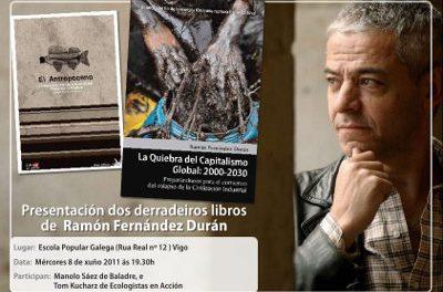 Presentación dos libros de Ramón Fernández Durán en Vigo