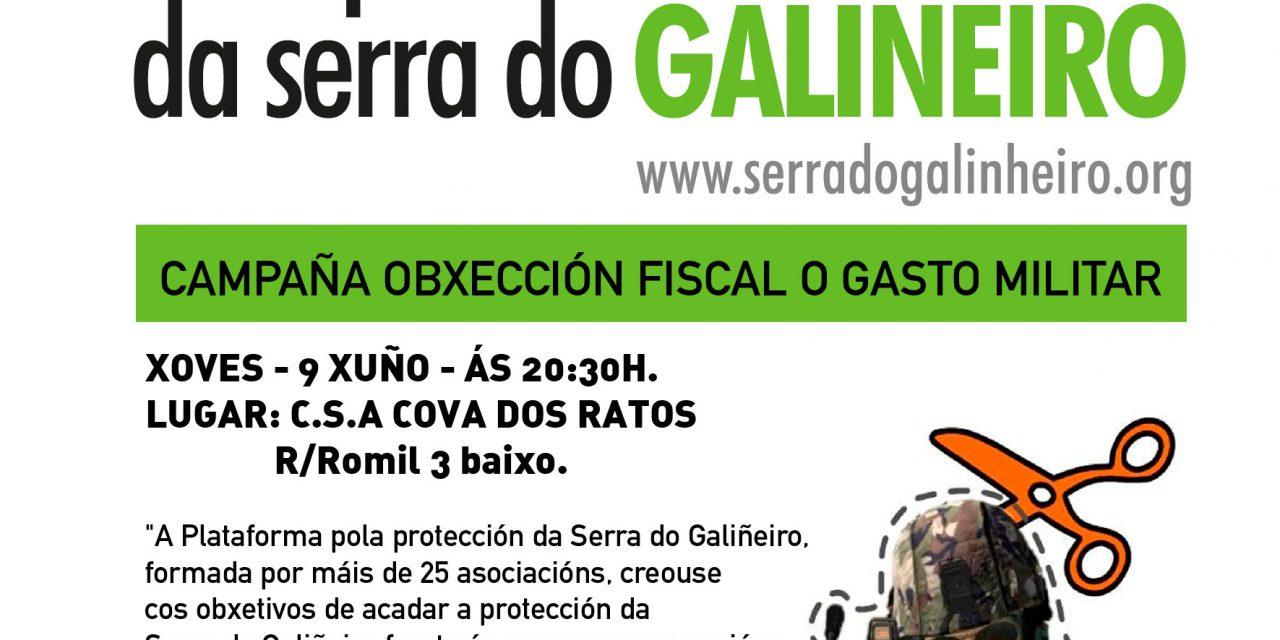 Palestra sobre agresións á Serra do Galiñeiro o 9 de xuño en Vigo