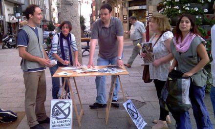 Acto contra as brutais talas que están asolando Vigo