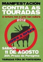 Pontevedra mobilízase contra as touradas