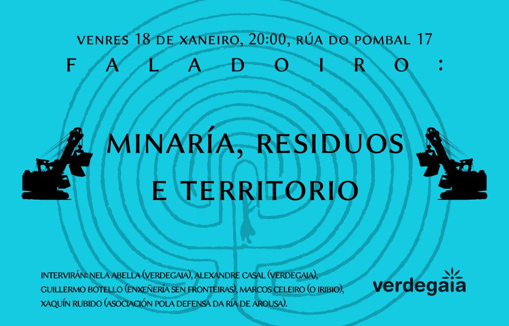 Faladoiro: minaría, residuos e territorio