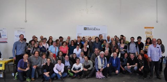 Fiare reúne máis de 300 persoas en Barcelona para culminar o proceso de integración con Banca Popolare Etica