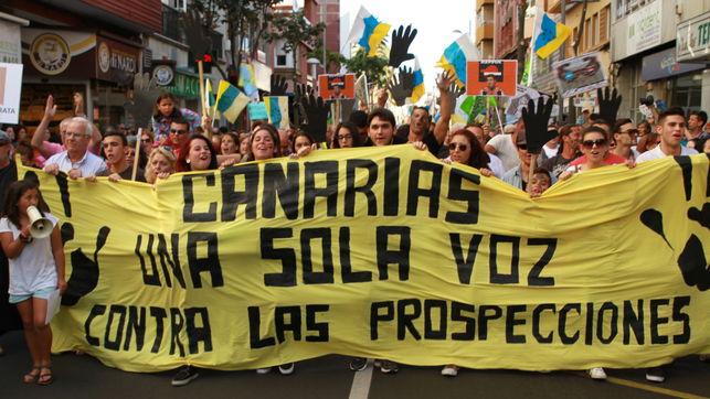 CANARIAS, UNHA SOA VOZ: NON ÁS PROSPECCIÓNS PETROLÍFERAS!