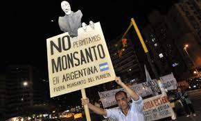 Documento de rexeitamento á instalación de Monsanto en Malvinas Arxentinas.