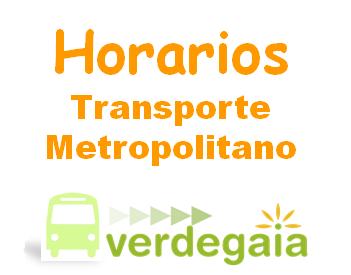 A web de Verdegaia presenta dende hoxe os horarios do transportes metropolitano de Vigo