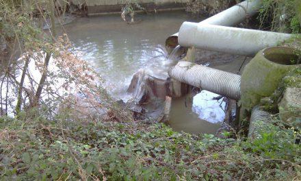 A Confederación Hidrográfica Miño-Sil sanciona o concello de Tui polos verquidos no regato San Martiño (Tui)