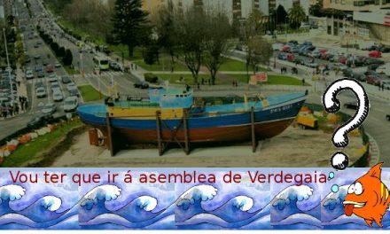 IX Asemblea Xeral de Verdegaia, 21 de marzo, Vigo.