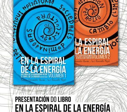 Presentación do libro En la espiral de la energía