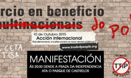 Galiza, contra os tratados de libre comercio