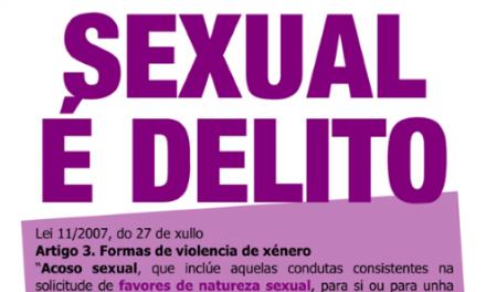 O acoso sexual é delito
