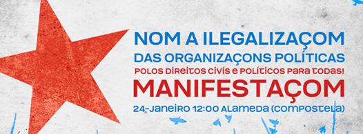 """Texto de adesom para colectivos sociais, organizaçons e sindicatos sobre a  """"Operación Jaro"""""""