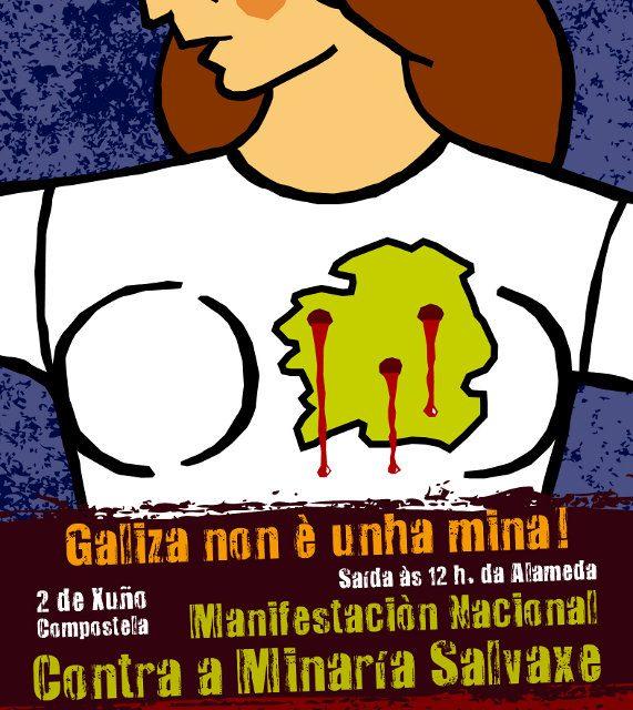 Máis minas contaminantes para Galicia: alerta social