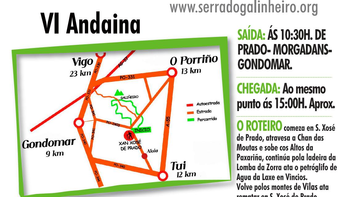 VI Andaina pola Serra do Galñeiro