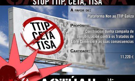 Campaña de sensibilización sobre os Tratados de Libre Comercio