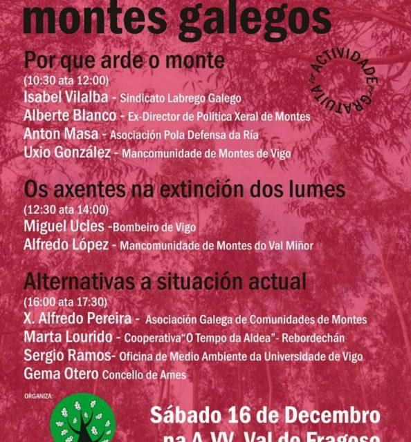 Xornadas sobre os montes galegos
