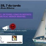 Encontro entre Ecologistas en Acción e ContraMINAcción en Ribeira
