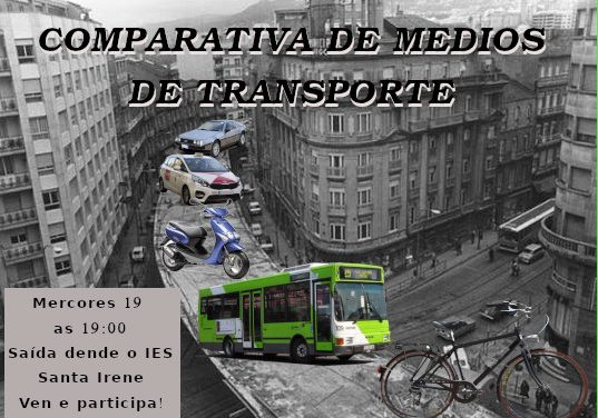 Comparativa Urbana de Medios de Transporte en Vigo