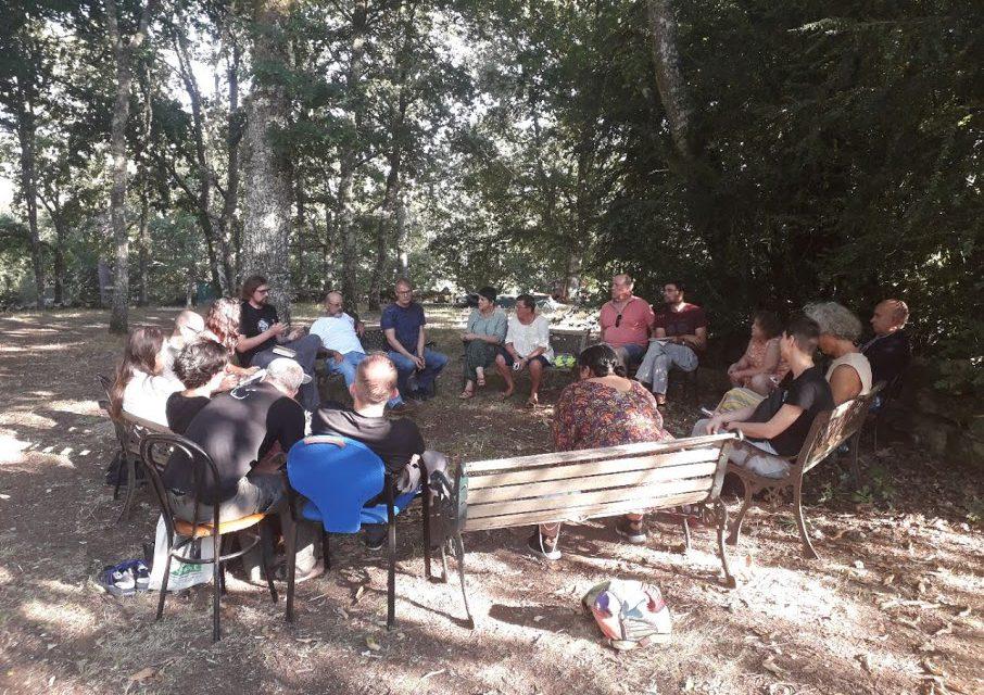 Encontro de Activistas en Antas de Ulla