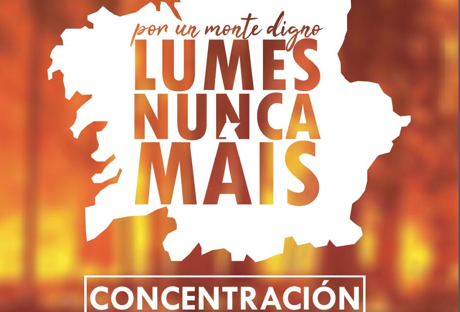 Lumes Nunca Máis, Ourense 22 de agosto