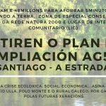 Plataforma contra a ampliación da autovia AG59 Teo-A Estrada