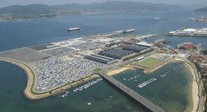 Manifestación en Vigo contra a ampliación do recheo de Bouzas