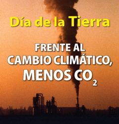 Fronte ao cambio climático, menos CO2