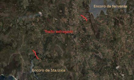 Ampliación do Salto de Novo Castrelo: certificando o estrago dun río