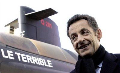 Choque de dous submarinos nucleares