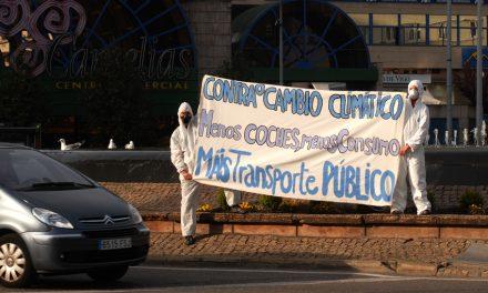 Acción-Denuncia no día da Terra en Vigo