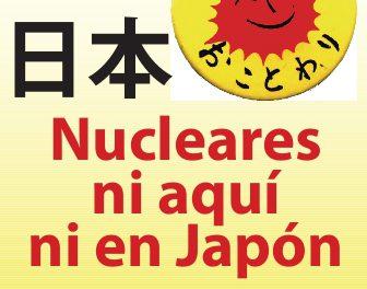 Verdegaia convoca concentracións en solidariedade co pobo xaponés e contra a enerxía nuclear