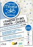 """""""I Marcha Moaña – Cangas"""" en bici ou camiñando"""
