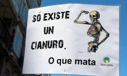 INICIATIVA DOS GRUPOS ECOLOXISTAS GALEGOS PARA PROHIBIR O USO DO  CIANURO EN MINARíA