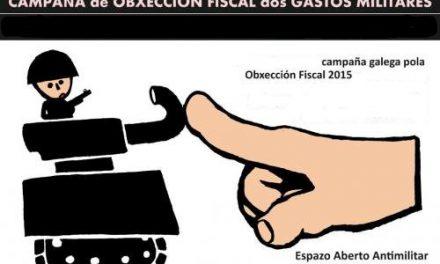 Campaña de obxección fiscal ao gasto militar 2015